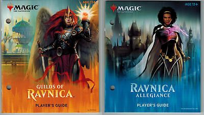Players Guide Lot ~ GUILDS OF RAVNICA and RAVNICA ALLEGIANCE ~Bundle MtG Book x2