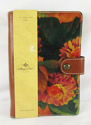-PATRICIA NASH HERITAGE Chieti Multi-Color Italian Leather Agenda 2018 Msrp $69