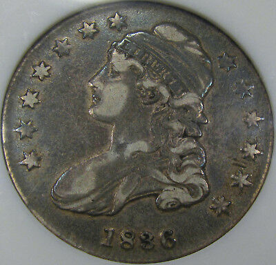 1836 O-106a Capped Bust Half Dollar ANACS EF-40... Very NICE and 100% Original!!