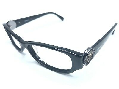 9df75e446b4 BEBE WOMEN S EYEGLASS Frames HUGS BB5063 001 Jet Black Blue FRAME ...