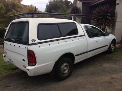 2002 Ford au ute workers tradies ute Lock up Canopy