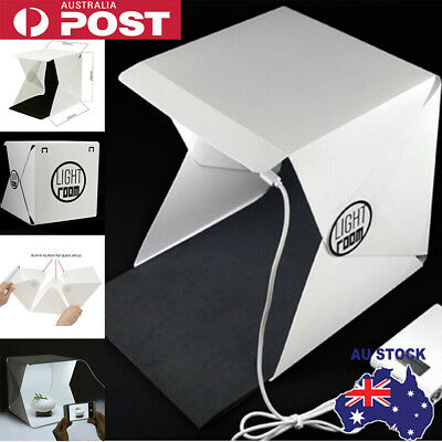 White Light Room Photo Studio Photography Lighting Tent Backdrop Cube Mini Box