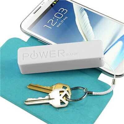 Ultra Thin Portable External Power Bank Battery Charger Built-in MicroUSB Cable