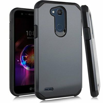 For LG X Power 3 Hybrid Shockproof Rugged Protective Cover Phone Case