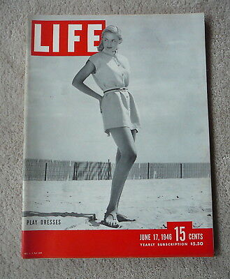Life Magazine - June 17 1946 - Play Dresses
