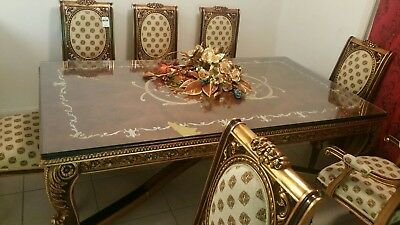 Versace Dining Table and Chairs