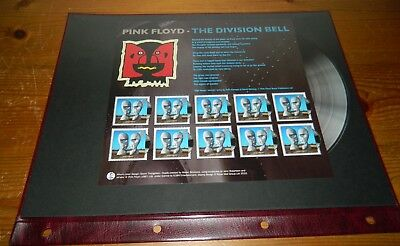 Gb Qeii 2010 Classic Albums Pink Floyd The Division Bell Sheetlet Of 10
