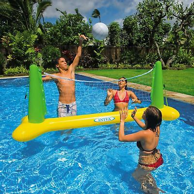 Intex Inflatable Family Volleyball Pool Game Summer Fun Floating Water Toy