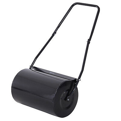 Heavy Duty Push/Tow Lawn Roller Metal Roller Filled w/ Water or Sand