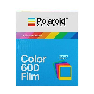 POLAROID Color 600 Instant Film for 600, Impulse and iType Cameras - 8 Shot Pack