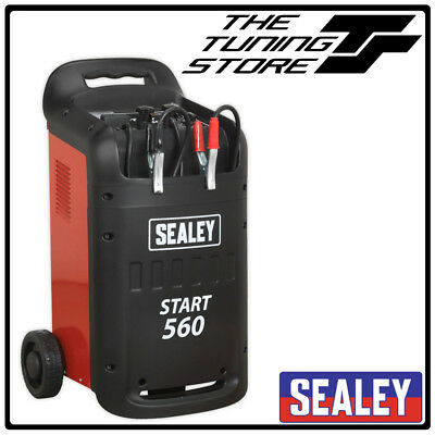 Sealey START560 V2 Battery Starter Charger 560/90Amp 12/24V 12 or 24 Volt 230V