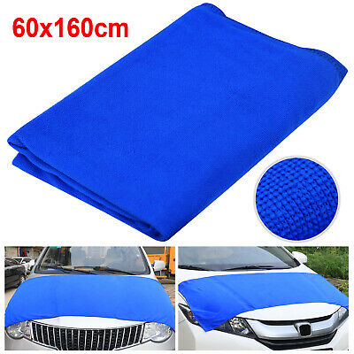 TRIXES Large Blue Microfibre Soft Dust Buster Auto Car Cleaning Cloth