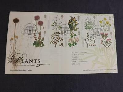 2009 Plants 10 x 1st Class GB Stamps First Day Cover Kew Richmond SHS MD M5