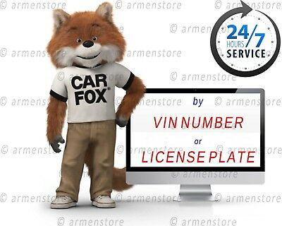 Full printable PDF Carfax Vehicle history Report INSTANT