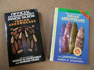 Two Robert Overstreet Arrowhead Price Guides From The David Stilp Library