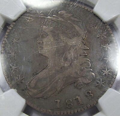 1818 O-105 Capped Bust Half Dollar NGC VF-20...A Great Coin, Nice and Original!!
