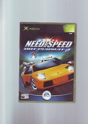 NEED FOR SPEED HOT PURSUIT 2 - MICROSOFT XBOX GAME Fast Post ORIGINAL & COMPLETE
