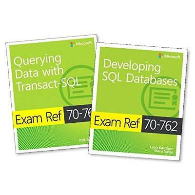 Microsoft Developing SQL Database + Querying Data with Transact-SQL: Exam Refs 7
