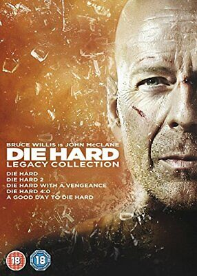 Die Hard: Legacy Collection (Films 1-5) [DVD] [1988] - DVD  E2LN The Cheap Fast
