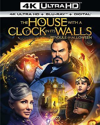 The House with a Clock in Its Walls [4K Ultra HD + Blu-ray + Digital] (Bilingual