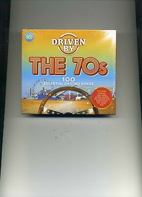 Driven By The 70S - Dr Hook David Soul Blondie Darts Osmonds Kiss - 5 Cds - New!