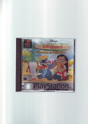 Disney's Lilo & Stitch : Trouble In Paradise - Ps1 Game / Ps2 Ps3 - Complete