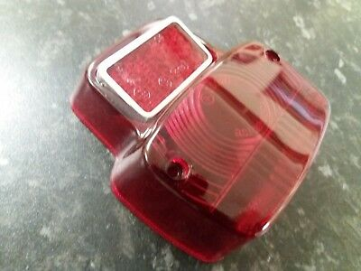 Vespa V50 V90 Primavera ET3 SS90 Rear Lamp Lens Top Quality original type