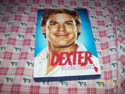 DEXTER - The Complete Second Season (DVD, 4-Disc Set) + CHECK OUT MY AUDIOBOOKS