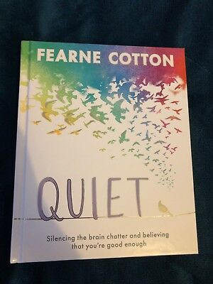 QUIET - Fearne Cotton HARDCOVER *BRAND NEW*