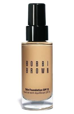 Bobbi Brown Skin Foundation Spf 15, 1 Warm Ivory, 1oz Makeup With Outer Cover