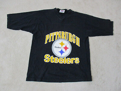 VINTAGE Kordell Stewart Pittsburgh Steelers Jersey Shirt Adult Large Black  90s e730f1e14
