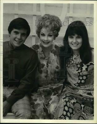 1969 Press Photo Lucille Ball with her children. - hcp21530