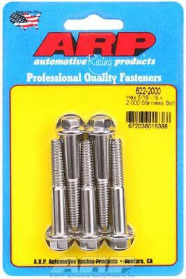 "ARP 622-2000 Stainless Steel Bolts Bolt Hex Head 5/16""-18 RH Thread, 2.000"" 5 Pk"