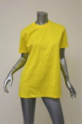 23aa0de8 Prada T-Shirt Lemon Cotton Jersey Size Large Crewneck Short Sleeve Tee NEW