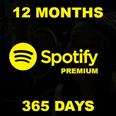 ⭐SALE⭐Spotify Premium |12 Months [ PRIVATE ] Worldwide INSTANT DELIVERY 24/7