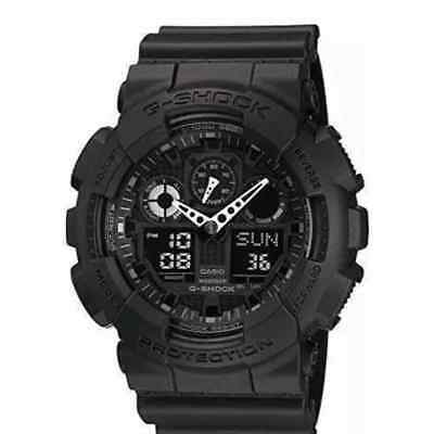 Casio G-Shock GA100 Series Military Army Casual Quartz Sports Watch Ani-Digital