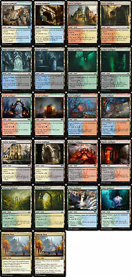 44 GUILDGATE GATE Dual Land ~mtg NM ALL Art GRN Ravnica Allegiance Gateway Plaza