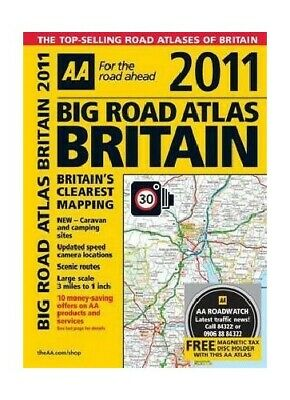AA Big Road Atlas Britain 2010 (AA Atlases and ... by AA Publishing Spiral bound