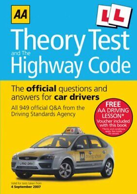 AA Theory Test and the Highway Code (AA Driving Te... by AA Publishing Paperback