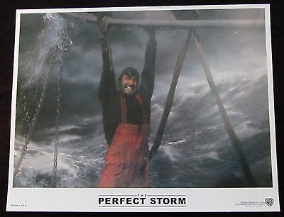THE PERFECT STORM  lobby card #5 GEORGE CLOONEY