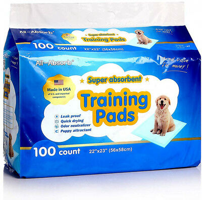 All-Absorb Training Pads Pet Dog 22-inch By 23-inch