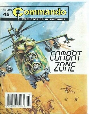 Combat Zone,commando War Stories In Pictures,no.2606,war Comic,1992