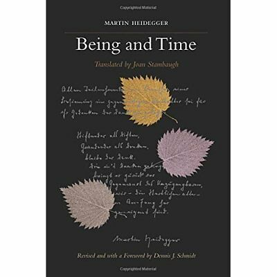 Being and Time - Paperback NEW Schmidt, Dennis 2010-07-01