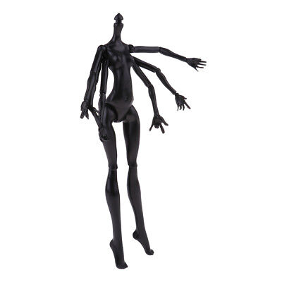 Stylish 1/6 BJD Doll Monster Spider Black Nude Female Body for Monster High