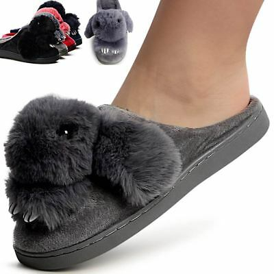 Chaussures Féminines Plateau Chaussons Chaussons Mules Slipper Mocassins Lapin