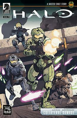 Halo: Collateral Damage by Alex Irvine Hardcover Book Free Shipping!