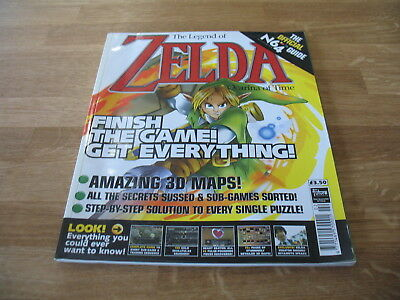 N64 Nintendo strategy guide magazine Zelda 64 Ocarina of Time official Future