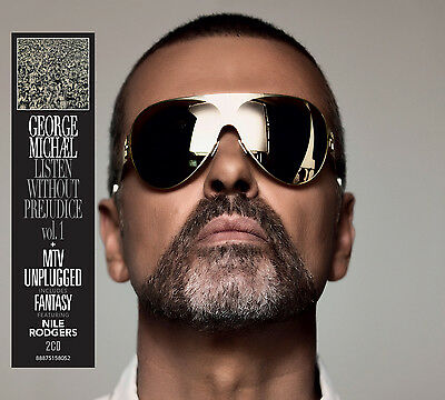 George Michael Listen Without Prejudice Vol 1 MTV Unplugged 2 CD