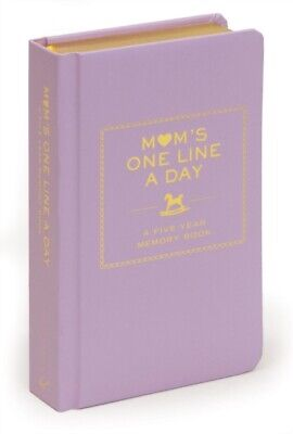 Mom's One Line a Day: A Five-Year Memory Book (Diary), Chronicle ...