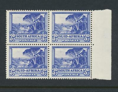 SOUTH AFRICA 1940, 3d BLOCK, VF NEVER HINGED SG#59 (SEE BELOW)